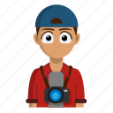 avatar, job, photographer, photography, profession icon