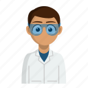 avatar, job, laboratory, profession, scientist icon