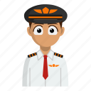 avatar, job, person, pilot, profession icon
