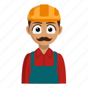 avatar, builder, job, person, profession icon