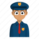 avatar, job, police, policeman, profession icon