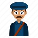 avatar, job, person, postman, profession icon