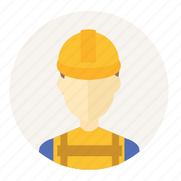 account, architect, avatar, construction, construction worker, engineer, people icon