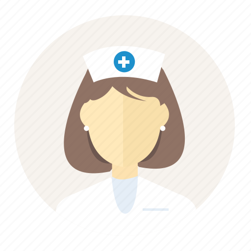 avatar, hospital, medical, medicine, nurse, person, woman icon