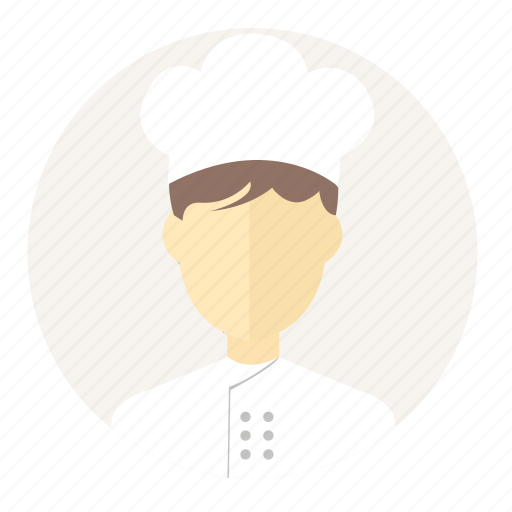 account, avatar, chef, cook, cooking, people, restaurant chef icon