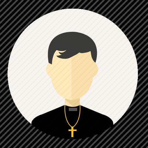 account, avatar, christian, man, pastor, person, profile icon