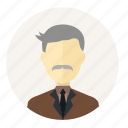 avatar, grandpa, man, people, profile, shirt, uncle icon
