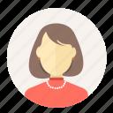 avatar, female, lady, mother, teacher, user, woman