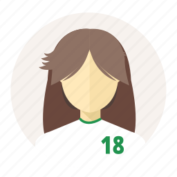 avatar, female, japan, sport man, student, user, woman icon