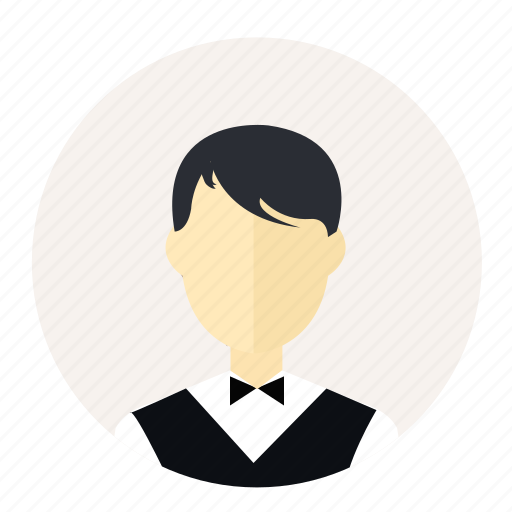 account, avatar, employee, man, person, salesman, user icon