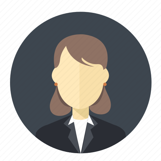 avatar, business, employee, female, lady, user, woman icon