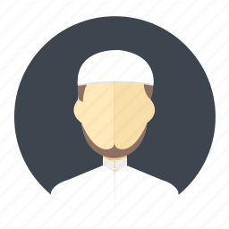 arabian, avatar, islam, male, man, muslim, user icon