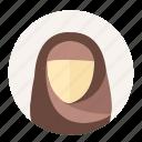 arabian, avatar, female, islam, muslim, user, woman