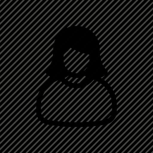 avatar, female, human, person, user, userpic, woman icon