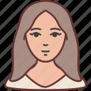avatar, user, woman, lady