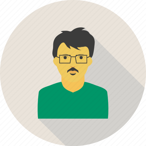 avatar, businessman, man, moustache, person, shades icon