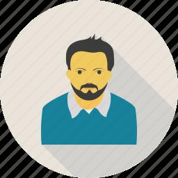 business, man, profile, user icon