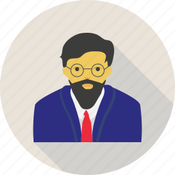 business, man, profile, user icon