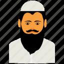 avatar, beard, muslim, muslim avatar, muslim man icon