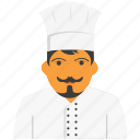 avatar, chef, man, men icon