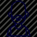 avatar, crime, gangster, hoodlum, man, ruffian, thug icon