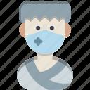 avatar, male, man icon