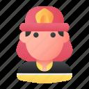avatar, firefighter, fireman, job, people, profession