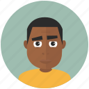 teenager, african, profile, user, avatars, avatar