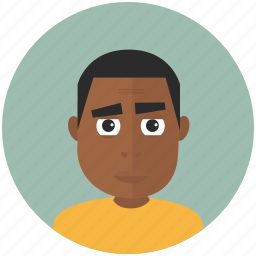 african, avatar, avatars, profile, teenager, user icon