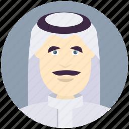 arabian, avatar, avatars, man, profile, user icon