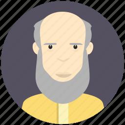 avatar, avatars, bearded, man, profile, user icon