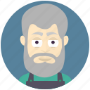 avatar, avatars, carpenter, man, profile, user icon