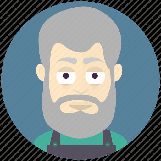 avatar, avatars, carpenter, man, profile, user icon
