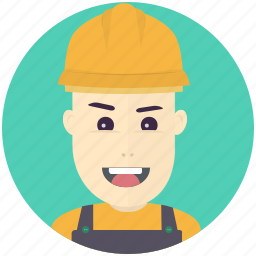 avatar, avatars, construction, man, profile, user icon