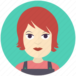 avatar, avatars, farmer, profile, user, woman icon