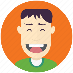 avatar, avatars, grinning, man, profile, user icon