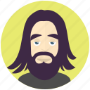 avatar, avatars, hipster, man, profile, user icon