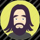 hipster, man, avatar, avatars, profile, user