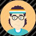 avatar, avatars, jogger, man, profile, user icon