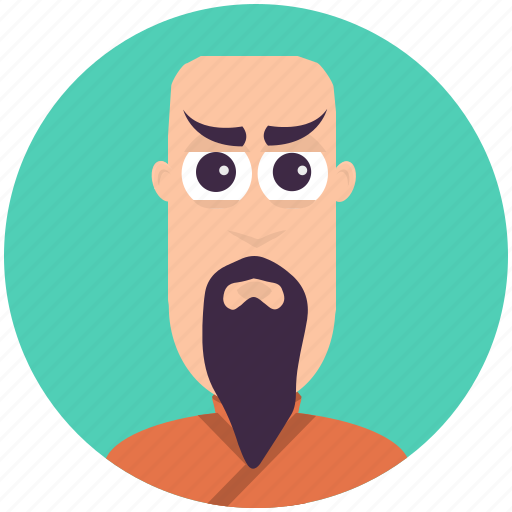 avatar, avatars, fu, kung, man, profile icon