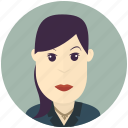 avatar, avatars, business, modern, user, woman icon