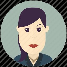 avatar, avatars, business, modern, user, woman icon