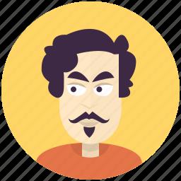 avatar, avatars, man, modern, profile, user icon