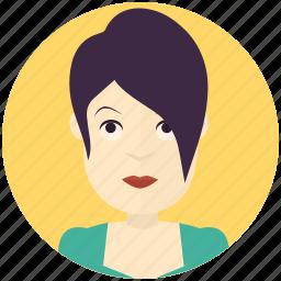 avatar, avatars, modern, profile, user, woman icon