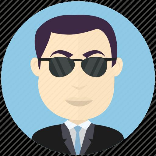 avatar, avatars, business, man, sunglasses, user icon