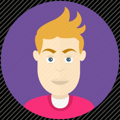 avatar, avatars, man, profile, teenager, user icon