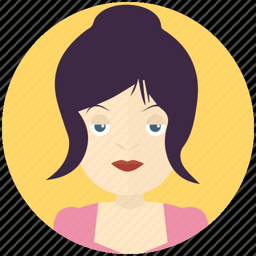 avatar, avatars, female, person, profile, user, woman icon
