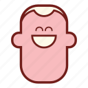 avatar, emoji, face, guy, happy, man, profile icon