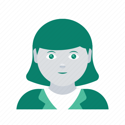 avatar, business, face, profile, user, woman icon