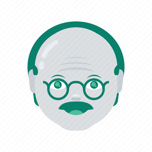 avatar, face, man, old, profile, user icon